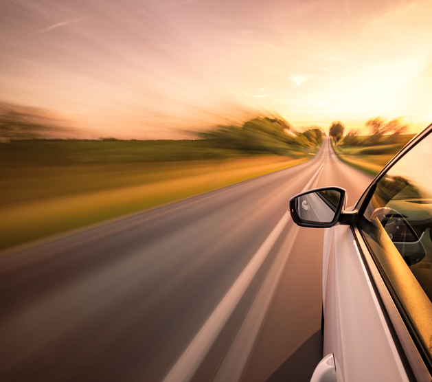 Speeding with adaptive cruise control